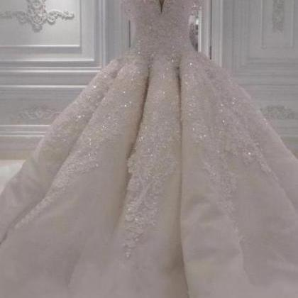 Beading Wedding Dresses, Sexy Weddi..
