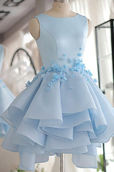 Sky Blue Homecoming Dress a1a1519c7
