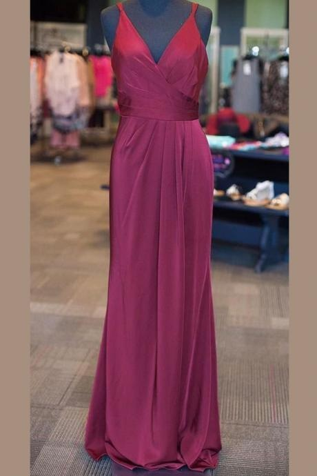 V-neck Prom Gowns, Sleeveless Prom Dresses, Long Prom Dresses, A-Line Prom Dresses, Floor-Length Prom Dresses, Open Back Lilac Prom Dress, Evening Prom Dress,Prom Dresses