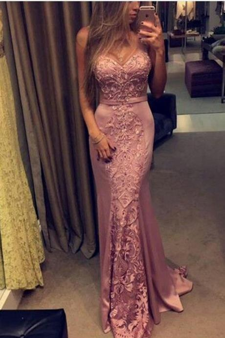 Elegant Prom Dress, Lace Prom Dresses,Sweetheart Prom Gown,Long Prom Dresses,Charming Prom Dress, Mermaid Prom Dresses 2017,Beading Prom Dress,Prom Dresses