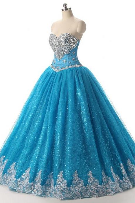 Beading Fashion Quinceanera Dresses,New Arrival Top Grade Adult Evening Dress, Banquet Host Quinceanera Dress,Ball Gown Quinceanera Dresses 2017,Quinceanera Dresses