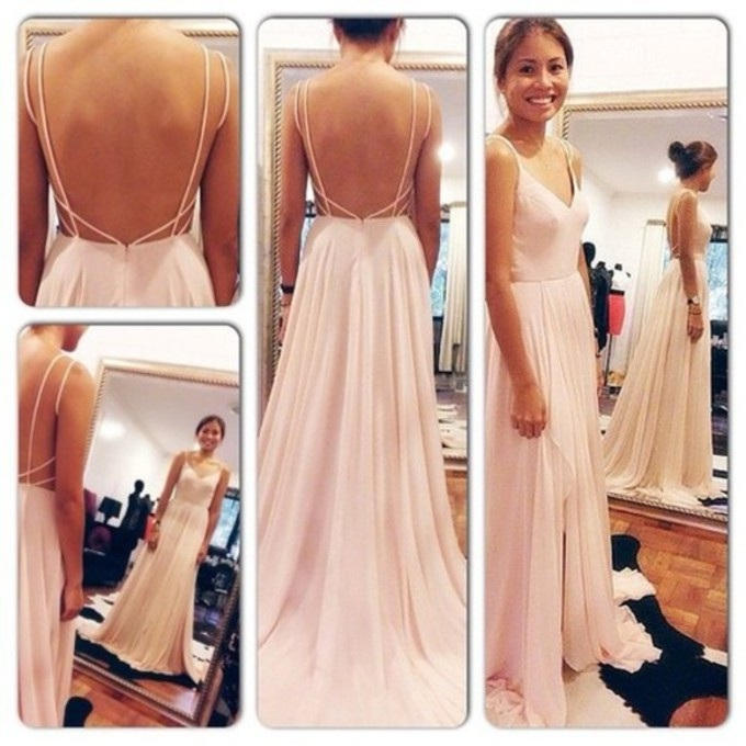 fc0ea83c63d Sexy Chiffon Prom Dress